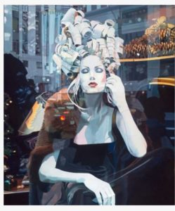 """""""Fifth Avenue"""" by Jeannie Maddox is the festival's featured image."""