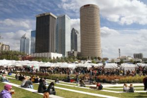 Visitors to the Gasparilla Festival of the Arts will see paintings, photography, sculpture, printmaking, watercolors, drawings, jewelry, fiber art, digital art, and works in ceramic, glass and wood. / Tribune file photo